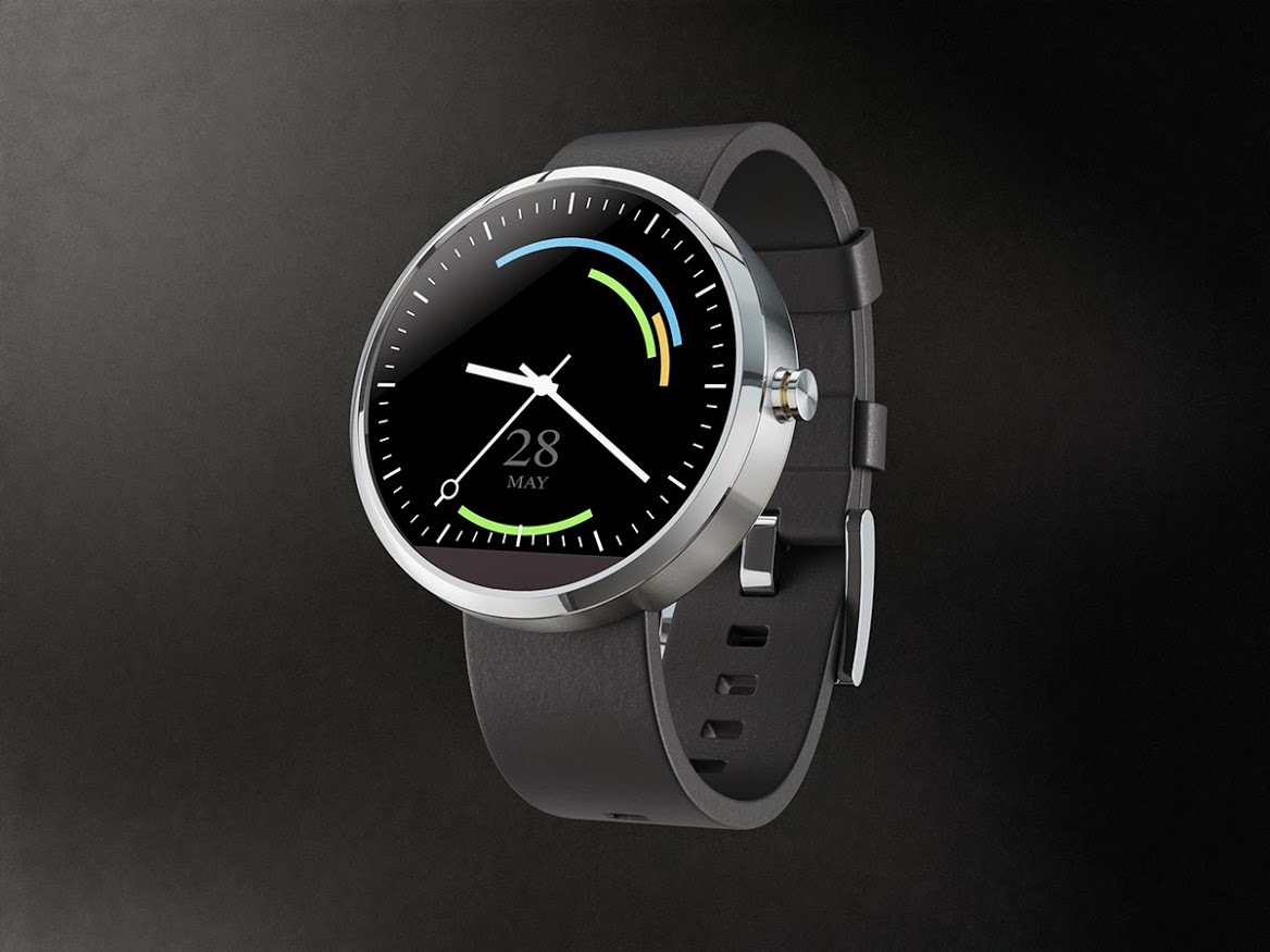 Android Wear koncept för events